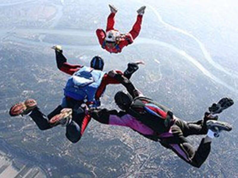 Saut d'Initiation au Parachute près d'Avignon à Pujaut